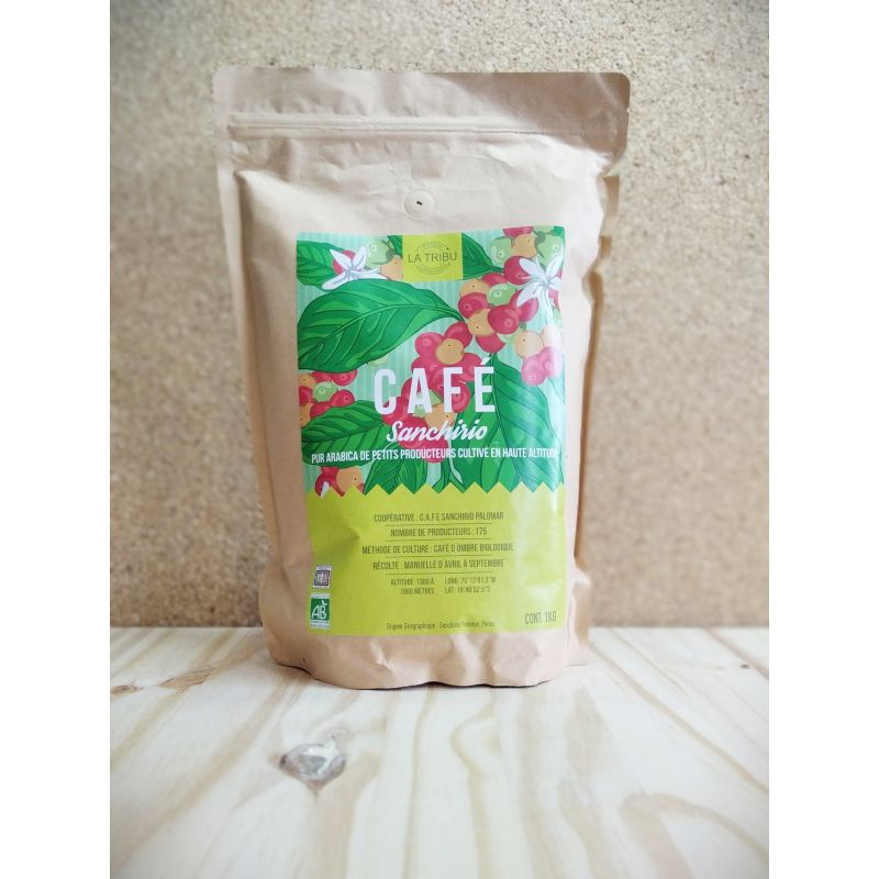 Café Grains Sanchirio 1kg - unité