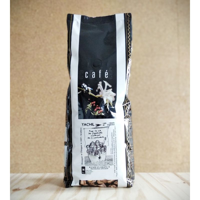 Café 100% arabica en grains - 1kg